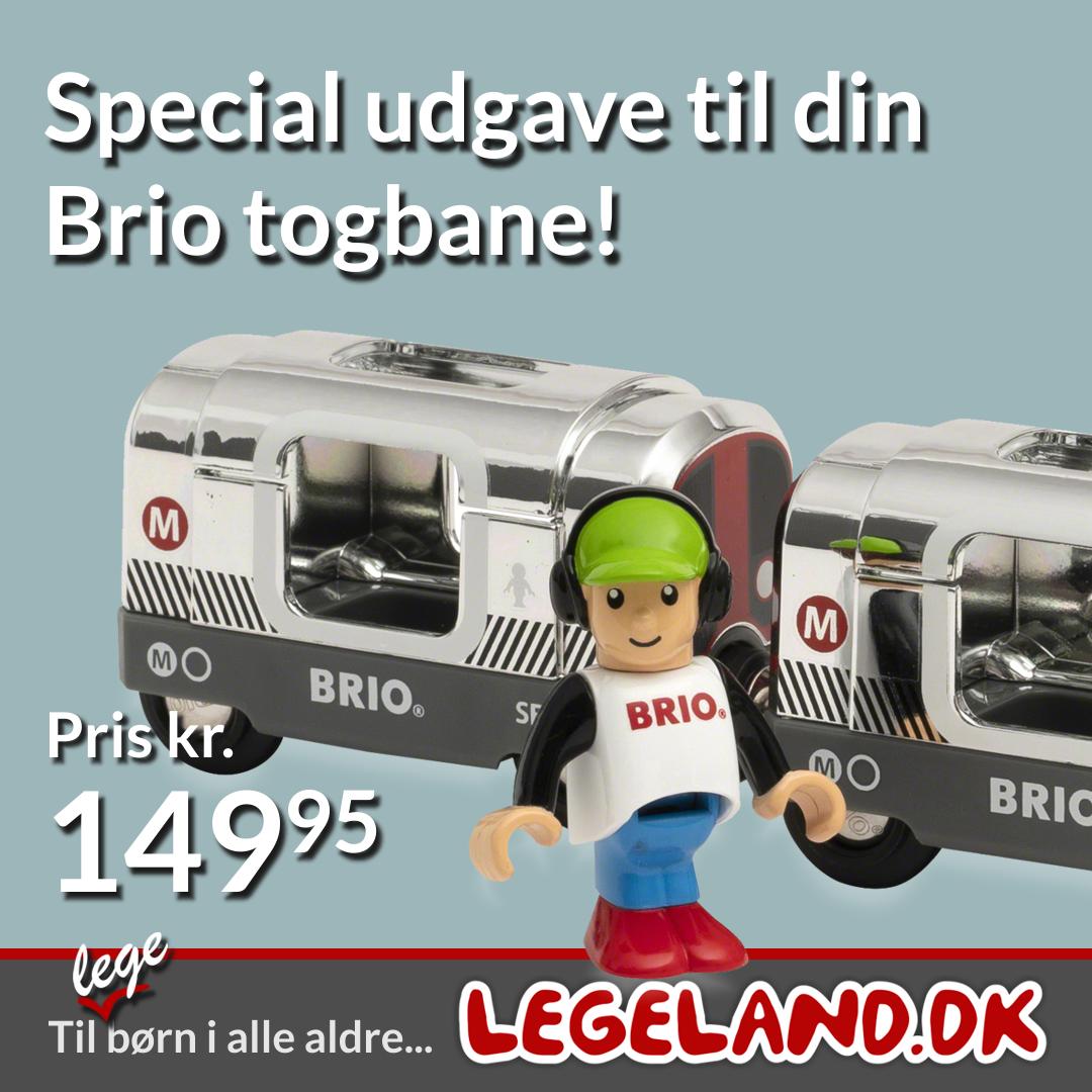 Limited udgave af et brio tog