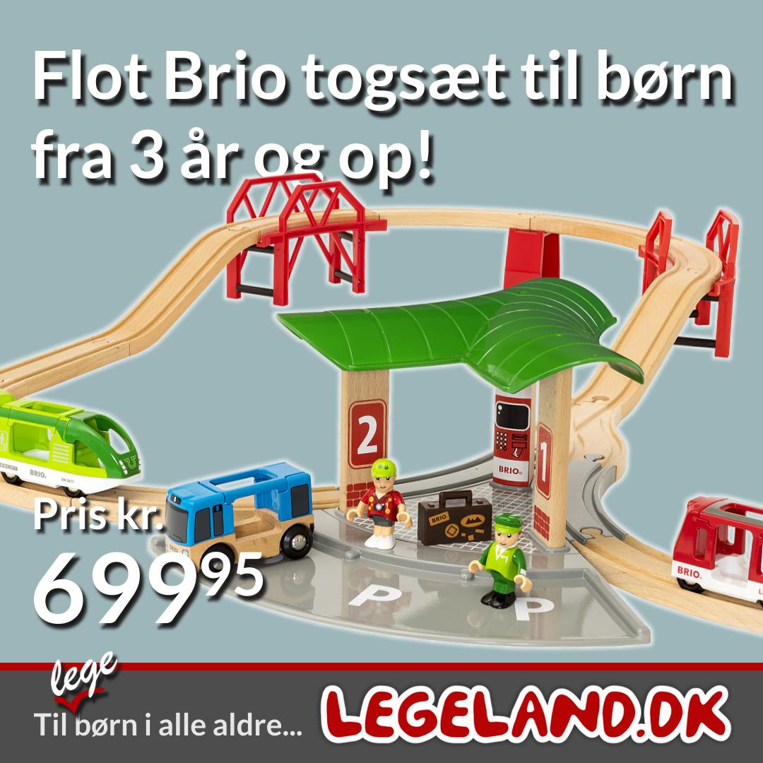 Stor Brio togbane til dit barn