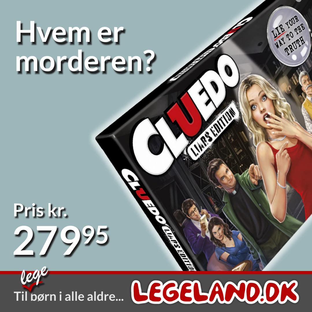 Cluedo er et meget populært familiespil