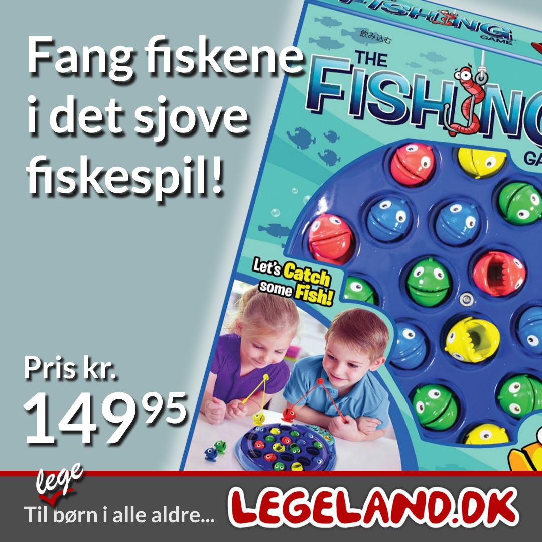 Det populære fiskespil til mindre børn