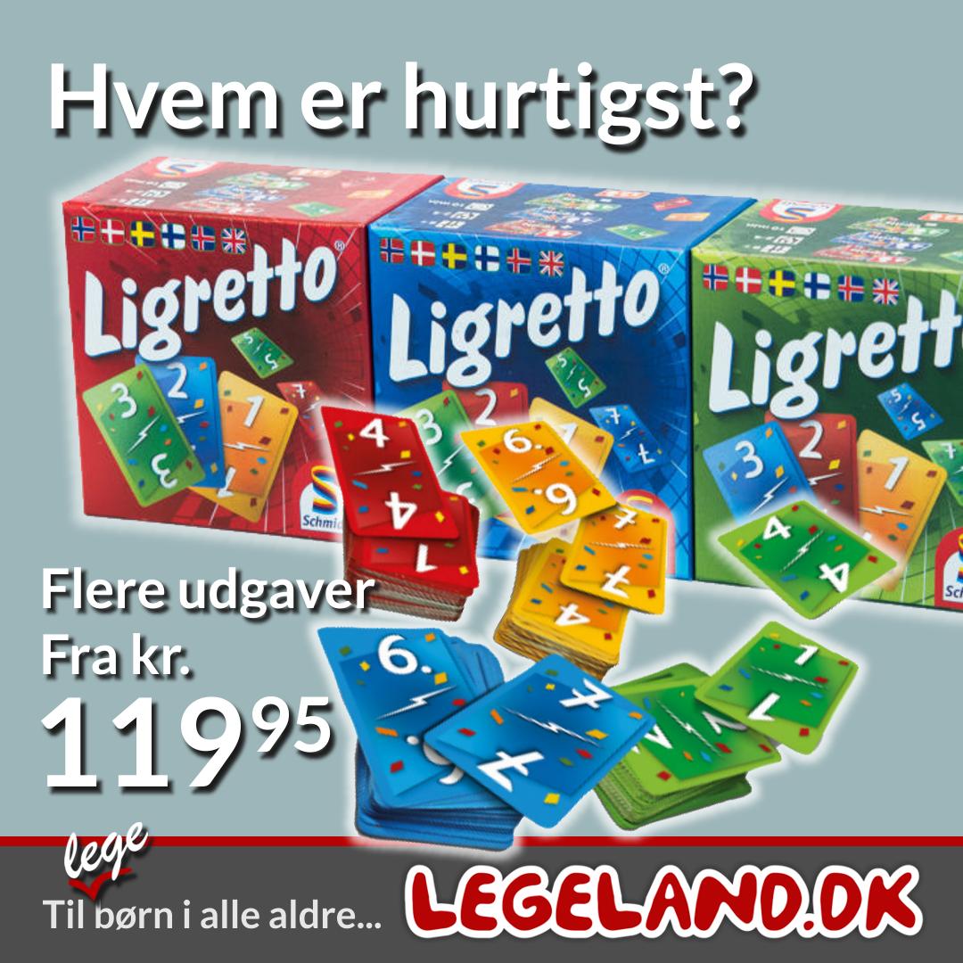 Sjovt spil hvor man skal være hurtig - Ligretto