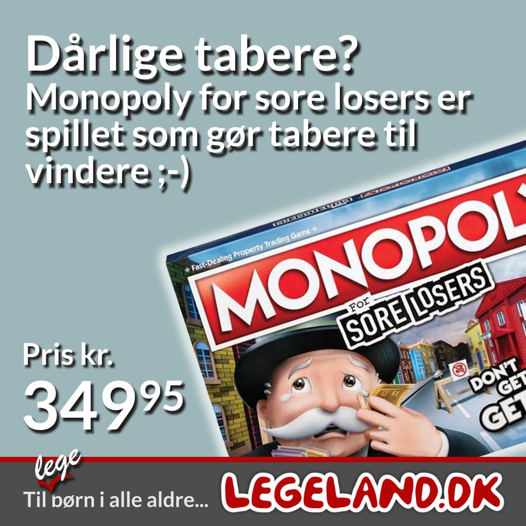 Monopoly til familiens dårlige tabere ;-)