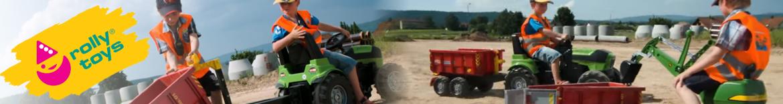 Rollytoys traktorer du kan køre på