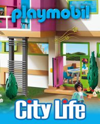 Byg en miniatureby med Playmobil