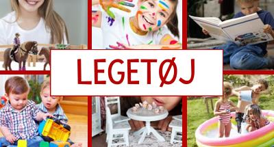Masser af legetøj til små og store børn hos Legeland.dk