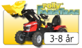 Rolly Toys FarmTrack pedaltraktorer
