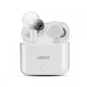 AEROZ  TWS 122 WHITE True Wireless Stereo earbuds with charging case Audio and HiFi White