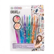 CREATE IT Tatoo Gelpen med Skabeloner