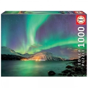 EDUCA 1000 Briks Puslespil Northern Lights