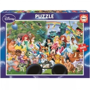 EDUCA 1000 briks Puslespil World of Disney