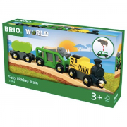 BRIO 33964 Safari Næsehornstog