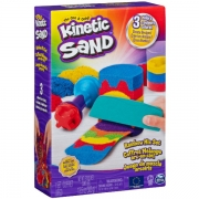 Kinetic Sand Rainbow Mix Sæt
