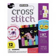 Kits 4 Kids Cross Stich Lær Korssting