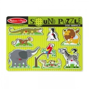 Melissa & Doug Knoppuslespil med Lyd Zoo