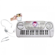 Music Disco Keyboard med headset