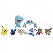 Pokemon 8 stk Battle Figurer