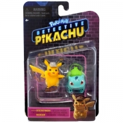 Pokemon Figure Battle Pack Detective Pikachu og Bulbasaur