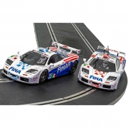 Scalextric C4012A McLaren F1 GTR Le Mans Twin Pack