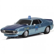 Scalextric C4058 AMC Javelin Alabama State Trooper Politibil