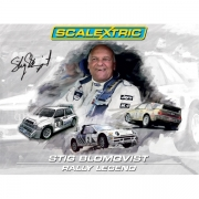 Scalextric C3372A Stig Blomqvist Rally Legends
