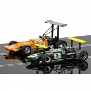 Scalextric C3589A Winged Legends Brabham & McLaren