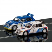 Scalextric C3590A Monte Carlo Rally Peugeot/MG