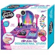 Shimmer N Sparkle Crazy Light Up Nail Design Studio