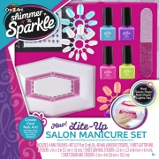 Shimmer N Sparkle Lite Up Salon Manicure Set