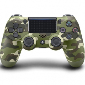 New Sony Dualshock 4 Controller v2 Grøn Camo PS4
