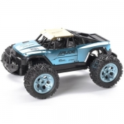 Techtoys Rude off-road 1:12 2,4 GHZ R/C Metal blue/gold