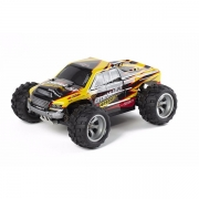 WLToys Fjernstyret Bil 4WD Monster Fashion Yellow