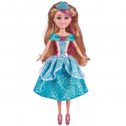 Sparkle Girlz Super Sparkly Princess med blå kjole
