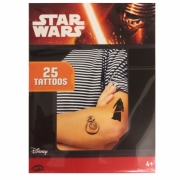 Star Wars Tattoos 25 stk