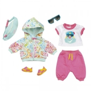 Baby Born Deluxe Biker Outfit