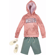 Barbie Fashion - Ken Tøj - Hoodie og Grønne Shorts