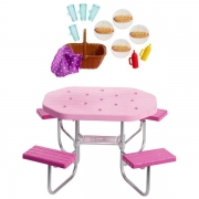 Barbie Picnic Bord