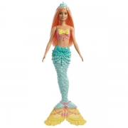 Barbie Dreamtopia Mermaid Coral Hair