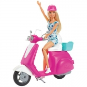 Barbie Dukke og Scooter