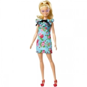 Barbie Fashionista Tea Floral Dress Dukke