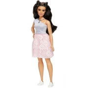 Barbie Fashionistas Dukke Powder Pink Lace