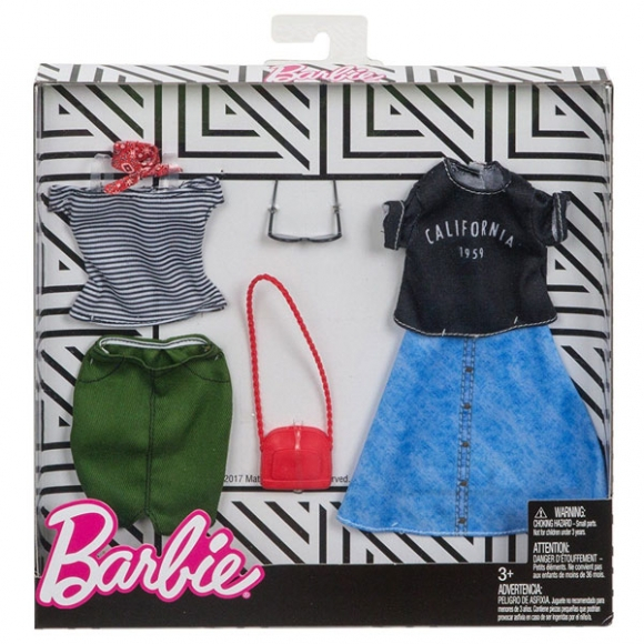 Complete Looks Fashion T Jpakke Fra Barbie To Flotte Outfits Til Din Barbie Dukke