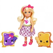 Barbie Chelsea and 2 Sweet Friends Sæt Marmelade og Peanut Butter