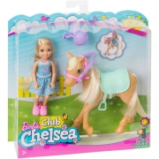 Barbie Chelsea og Pony