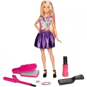 Barbie DIY Crimps and Curls Dukke