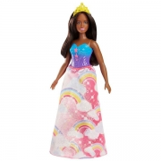 Barbie Dreamtopia Prinsesse Mørk Rainbow Cove