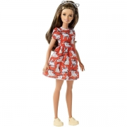 Barbie Fashionista Kitty Dress Petite Dukke