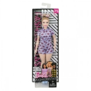 Barbie Fashionista Lips Curvy Dukke