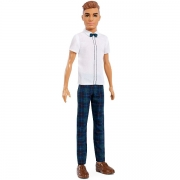 Barbie Ken Dukke Fashionistas Slick Plaid