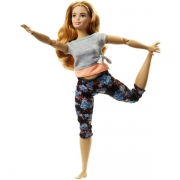 Barbie Made to Move Dukke Yoga Tema