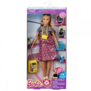 Barbie Pink Passport Dukke